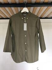 Margaret Howell la línea principal Camisa Para Hombres | 3/4 mangas kimono | Mediano | verde