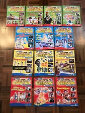 Lot UK 2008 DeAgostini ITV The classic Carry on film collection movie magazines