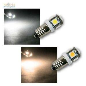 E10 LED Screw Base Bulb Illuminant, 12V Dc, Lamp, SMD LED Bulbs Power