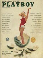 PLAYBOY DECEMBER 1960 Teddi Smith Carol Eden Marilyn Monroe Linda Vargas WD1