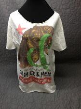 Of Mice And Men- California -Custom Cut Distressed T-Shirt Xxl