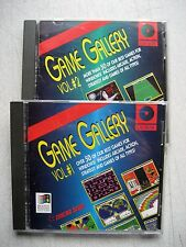 Slightly Used Game Gallery Volumes I & II CD-ROM, over 100  WIN game Favorites