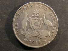 Australia.  Florin (2 Shillings), 1914(L).