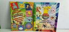 Pokemon Official collector's sticker book masters club ultimate lot Scholastic