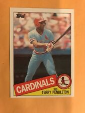 1985 Topps TERRY PENDLETON Rookie Card RC Atlanta BRAVES #346, QTY Available
