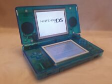 Nintendo DS Lite console New CLEAR BLUE shell with charger