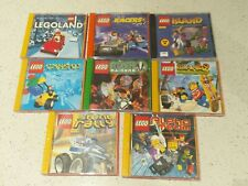 Rare Collectibles 8 LEGO CD Games with Stackable Lego cases
