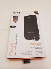 Genuine Gear4 iPhone 5/5S/SE Oxford D30 Protection Black Case