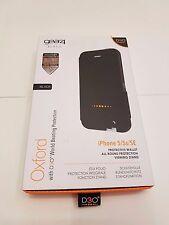 Véritable Gear4 iPhone 5/5 s/SE Oxford D30 boîtier noir