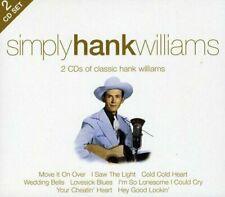 Hank Williams - Simply Hank Williams (2010)  2CD  NEW/SEALED  SPEEDYPOST