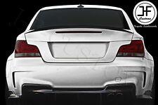 POUR BMW Série 1 E82 Coupé 07-13 Réel Fibre De Carbone P Type Boot lid spoiler lip