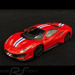 Ferrari 488 Pista 2018 Rouge 1/43 Bburago 18-36100