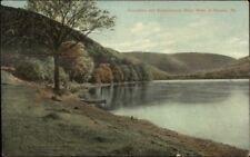 Renovo PA Susquehanna River Scene c1910 Postcard