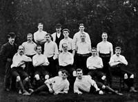 OLD SPORT PHOTO Football Circa 1896 Derby County Team