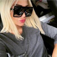 Oversized Sunglasses Women Retro Brand Designer Gradient Sun Glasses Big Frame