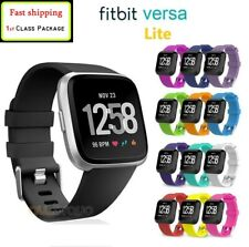 For Fitbit Versa Lite / Versa 2 Replacement Silicone Wristband Sports Band Strap