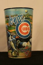 """Iowa Cubs Beer/Soda Souvenir Cup. 6.5"""" tall 4"""" radius. Several Players pictured."""