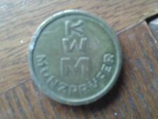 """KWM   .MEDAL/TOKEN """"E198"""""""