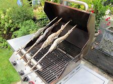 Steckerlfisch-Grillaufsatz 4 Fische Weber Barbecue Fisch Grillen BBQ Gasgrill !!