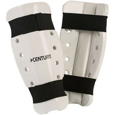 Century Martial Arts Student Sparring Shin Guards - White -pads karate taekwondo