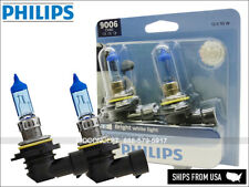 NEW! 9006 PHILIPS Crystal Vision Ultra Xenon HID LOOK Headlight Bulbs 9006CVB2