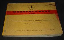 Ersatzteilkatalog Mercedes Strich 8 /8 Motor W M 115 T1 W 460 G-Klasse 1973!