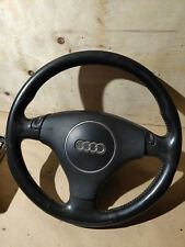 04 Audi A6 C5 Allroad button shift tiptronic steering wheel complete black