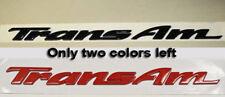 Pontiac Trans AM door emblem * WS6 , Ram Air TransAM GM