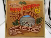 New Riders of the Purple Sage - Marin County Line 1977 MCA-2307 LP VG+ c VG+
