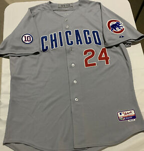 Chicago Cubs Marion Byrd 'Game-Used' 2011 Grey Road Jersey w/Steiner COA