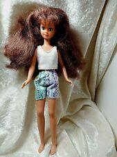 """Barbie's Little Sister or Babysitter 1987 Mattel 10"""" Brunette"""