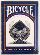 USPCC Bicycle Masters Edition Rider Blue Back Playing Cards Still Factory Sealed