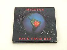 ROGER MCGUINN - BACK FROM RIO - CD GATEFOLD DIGIPACK 1991 - OTTIME CONDIZIONI
