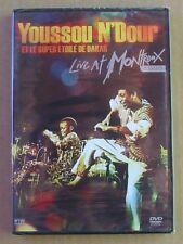 DVD YOUSSOU N'DOUR et le super étoile de Dakar - LIVE AT MONTREUX 1989 - NEUF