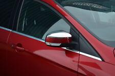 Chrome Rétroviseur Bordure Set Housses Pour Ford focus (2008-11)