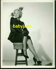 JOAN BLONDELL VINTAGE 8X10 PHOTO LEGGY PINUP RKO