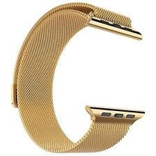 24K Gold Plated 40MM Milanese Band For 40MM Apple Watch  24 karat real gold