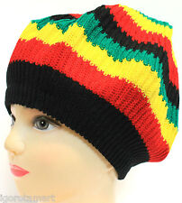 NEW JAMAICAN RASTA HAT BOB MARLEY CARIBBEAN BERET CAP HATS