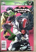 Batman And Robin #24-2011 vg+ 4.5 Newsstand Variant Cover DC Comics
