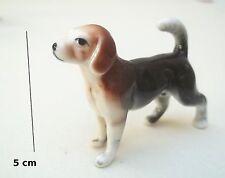 chien miniature en céramique ,collection, vitrine, hondje, dog   S5-B