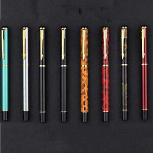 Luxury Design BAOER 801Metal Fountain Pen Smooth Fine 0.5mm Nibs Writing Gifts