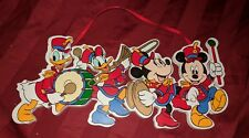 Disney Mickey Mouse Marching Band Christmas Ornament MINNIE DAISY DONALD DUCK