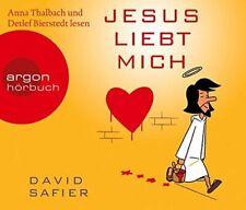 David Safier + 4CD + Jesus liebt mich (Leser: Anna Thalbach, Detlef Bierstedt)