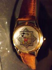 Mens Vintage Fossil Disney Mickey Mouse Watch (Snapshot)(Waving Mickey)VVHTF-New