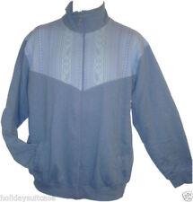 Cárdigan con cremallera de hombre en color principal azul