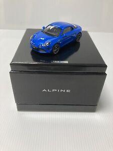 miniature Renault Alpine A110 Bleu Prenium 1/43