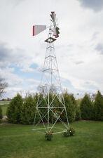 30 Ft Hand Made in the USA! Aluminum Garden Windmill