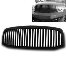 DODGE 2006 2007 2008 RAM 1500 2500 3500 TRUCK FRONT UPPER TOP MAIN GRILLE BLACK