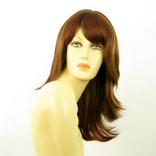 mid length wig brown copper wick light blond and red ref: LILI ROSE 33H130 PERUK