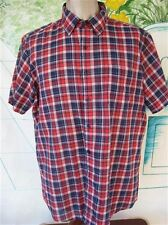 Vintage Mens Paper Thin Short Sleeved Shirt by Wells and Morris  Size L
